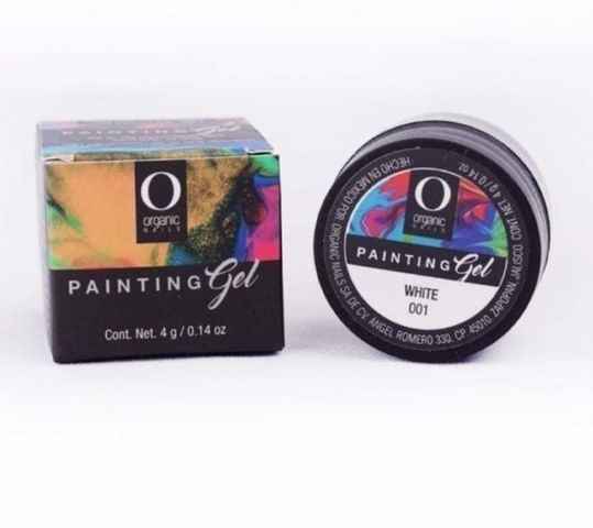 PAINTING GEL ON WHITE 001 4G