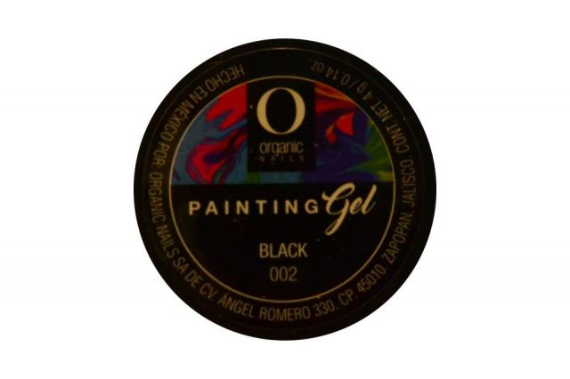 PAINTING GEL ON BLACK 002 4 G