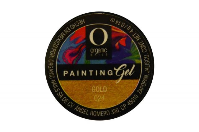 PAINTING GEL ON GOLD 024 4G