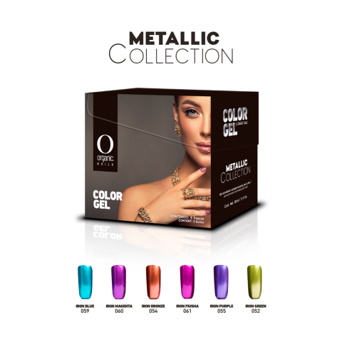 COLECCION COLOR GEL METALLIC